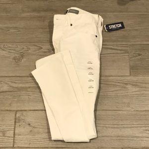 Aeropostale Skinny Stretch White Jeans 29x30 NWT